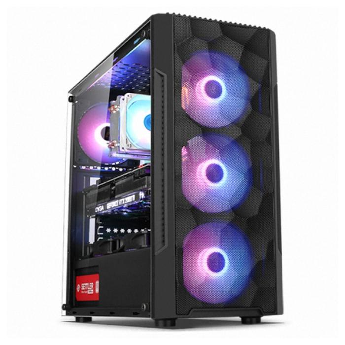 컴맹닷컴 고사양 게이밍 3D 그래픽 PC CMA37XC-288X(라이젠7 3700X RTX2080 SUPER 그래픽 RAM 16GB SSD 500GB WIN미포함), CMA37XC-288X, 기본형