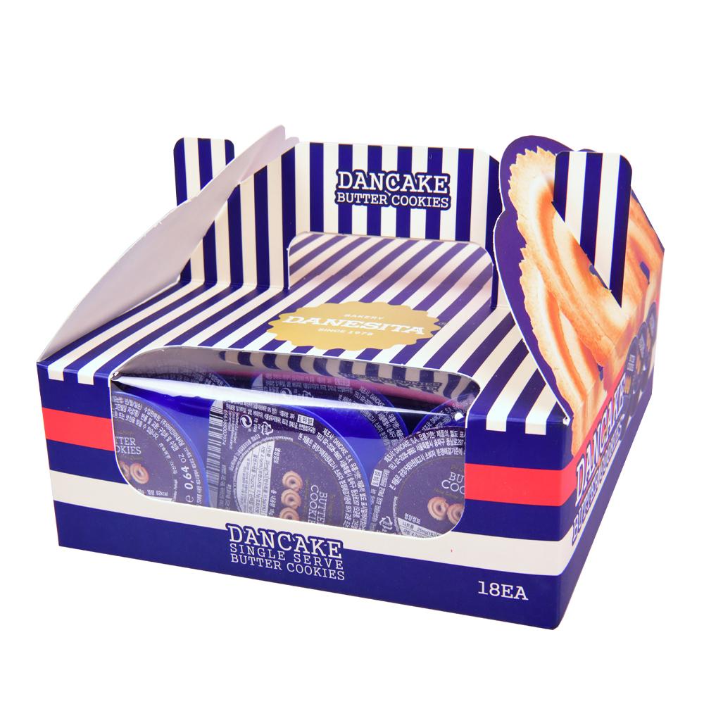 댄케이크 버터쿠키 싱글서브 18p, 324g, 1박스