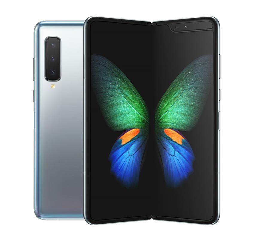 삼성전자 갤럭시 폴드 5G 휴대폰 SM-F907N, LG U+, 스페이스 실버, 512GB