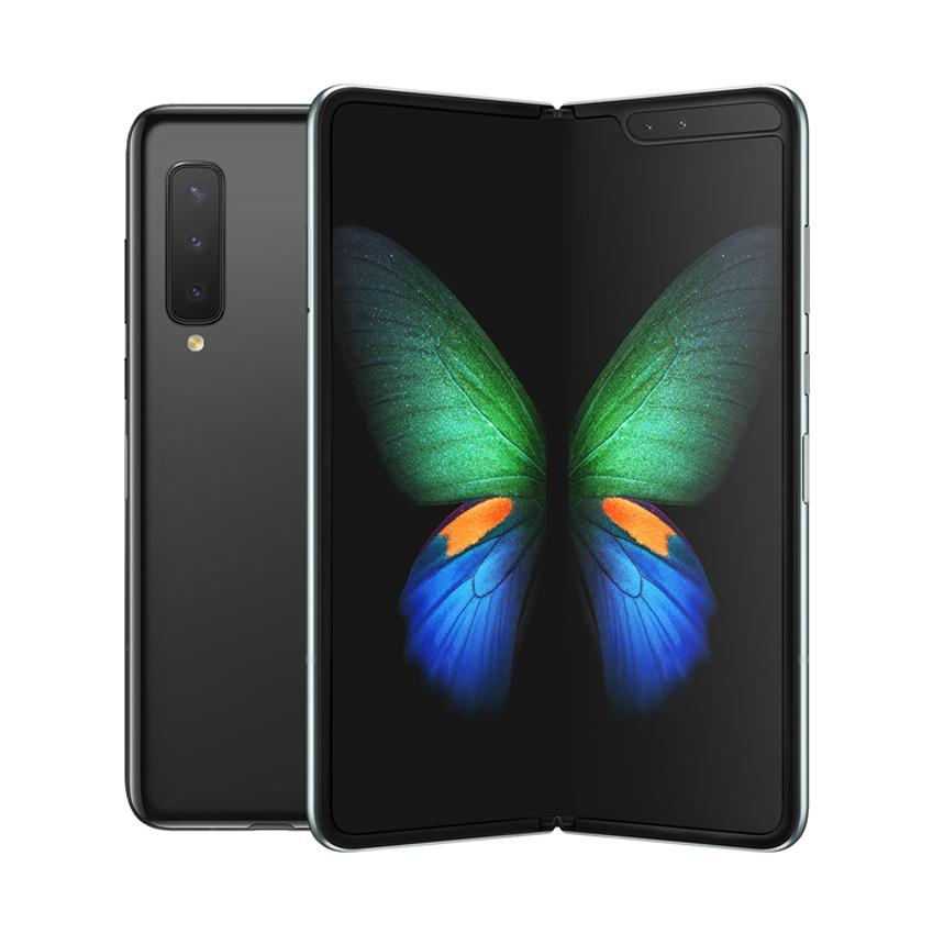 삼성전자 갤럭시 폴드 5G 휴대폰 SM-F907N, LG U+, 코스모스 블랙, 512GB