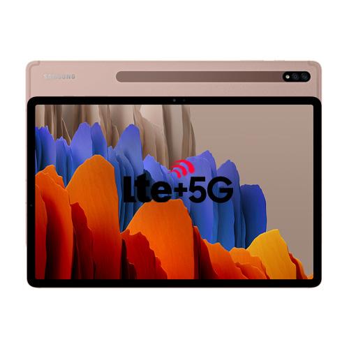 삼성전자 갤럭시 탭S7+ 12.4 5G 256GB, SM-T976N, 미스틱브론즈