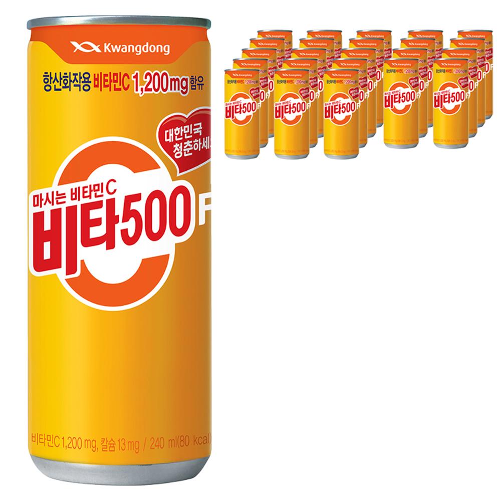 광동 비타500F 음료, 24개, 240ml