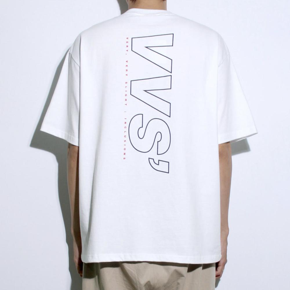 크루클린 VVS 오버핏 프린트 반팔 티셔츠 TRS036