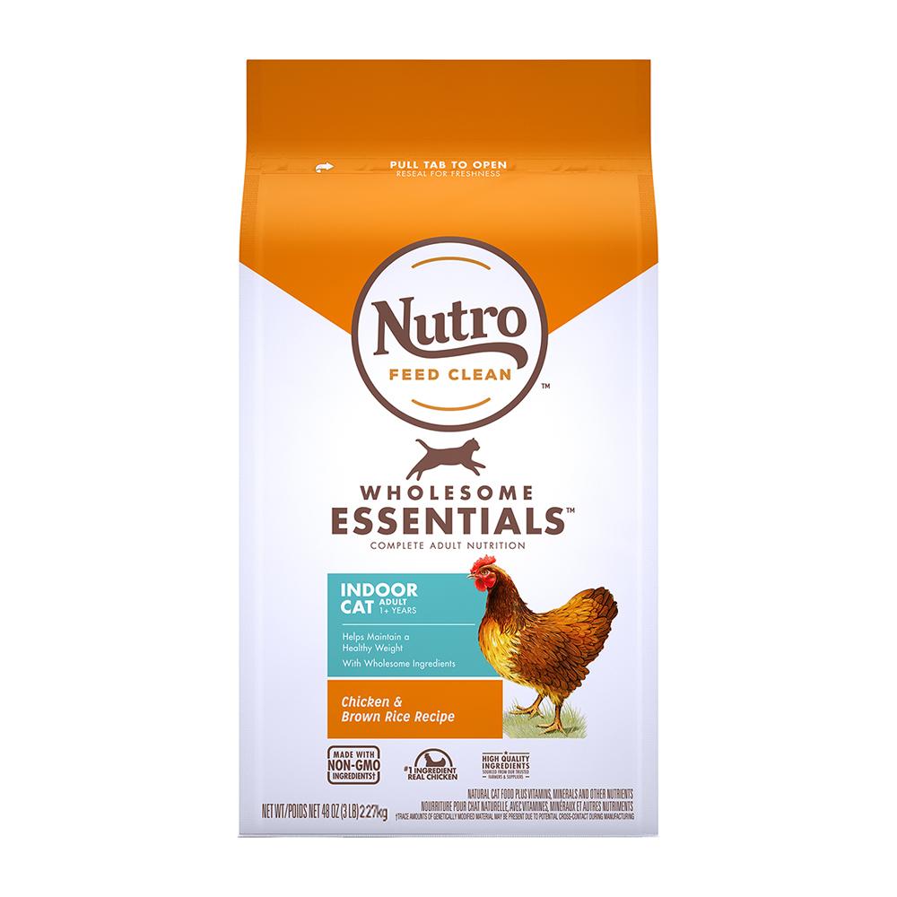 마즈 뉴트로 1세 이상 실내묘용 닭고기와 현미 건식사료, 닭, 2.27kg