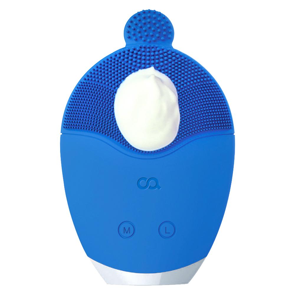 오아 클린버블 실리콘 진동클렌저, OSK-003PK, 블루