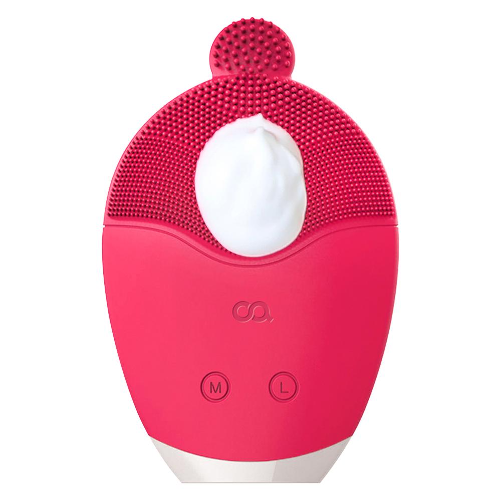 오아 클린버블 실리콘 진동클렌저, OSK-003PK, 핑크