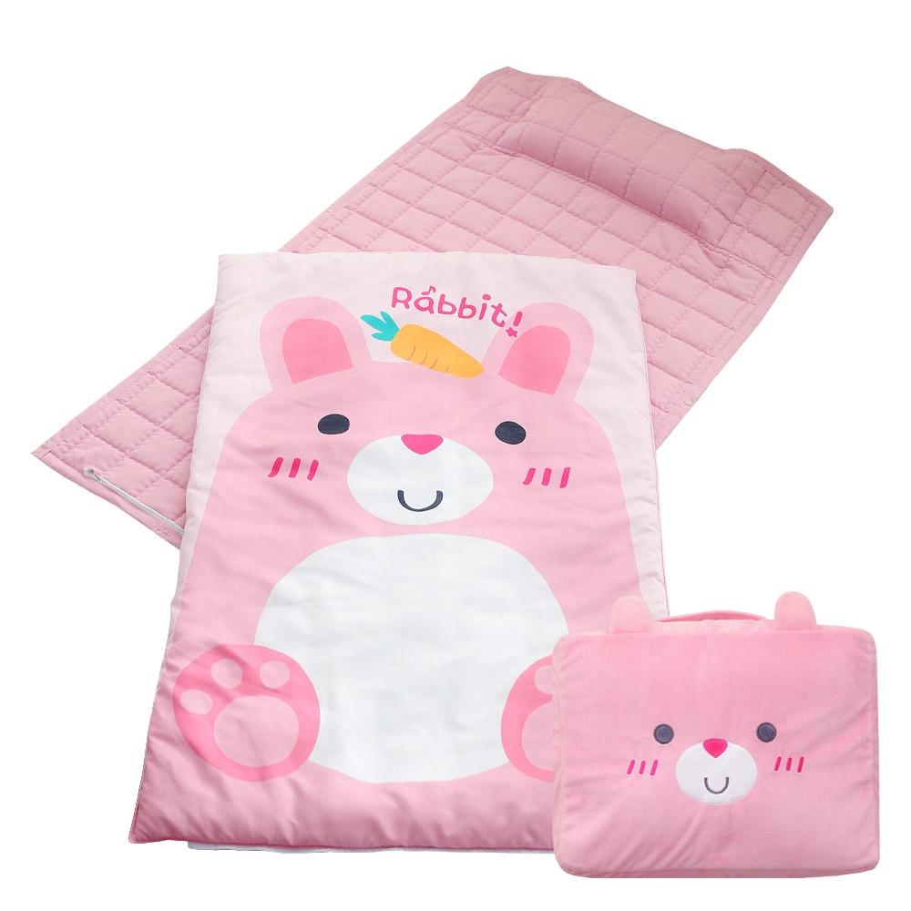 에일린키즈 에코 항균 낮잠이불세트 일체형 + 낮잠이불 보관 가방, 로미