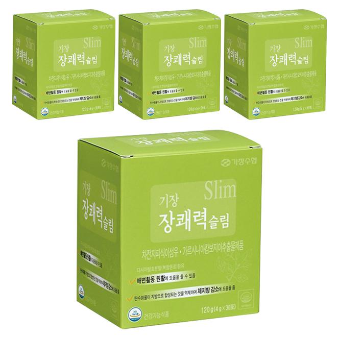 두루원 기장 장쾌력 슬림, 4g, 120개입