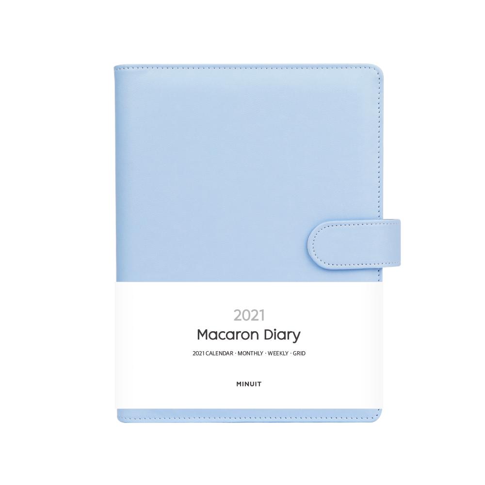 미뉴잇 마카롱 2021 다이어리, 블루