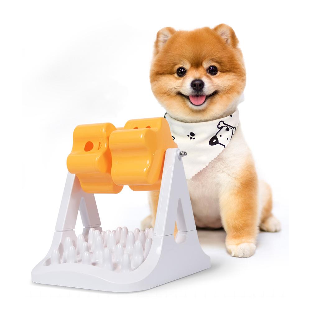 펫트너스 별별 노즈워크 돌돌이 강아지 고양이 분리불안 장난감, 혼합색상, 1개