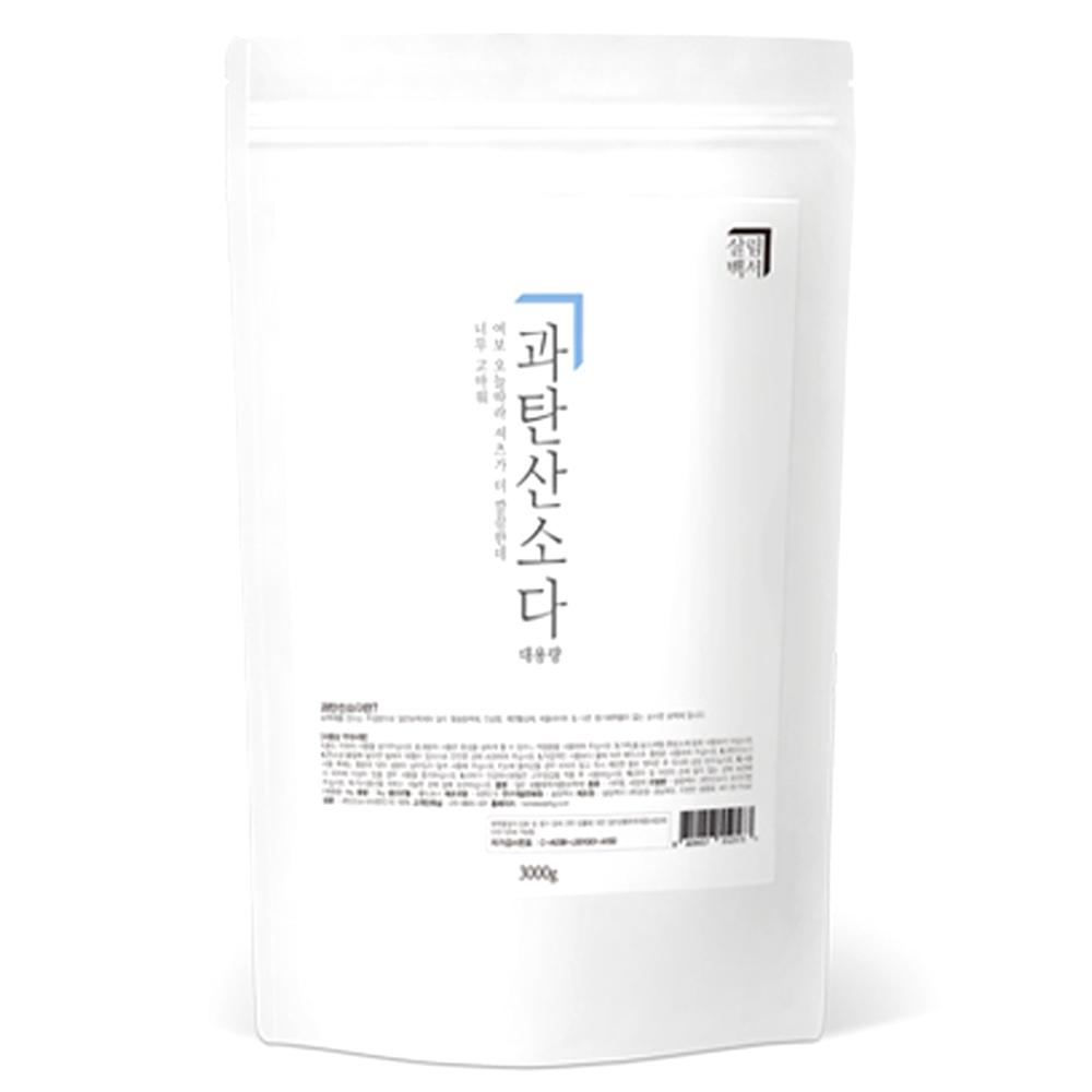 살림백서 과탄산소다, 3kg, 1개