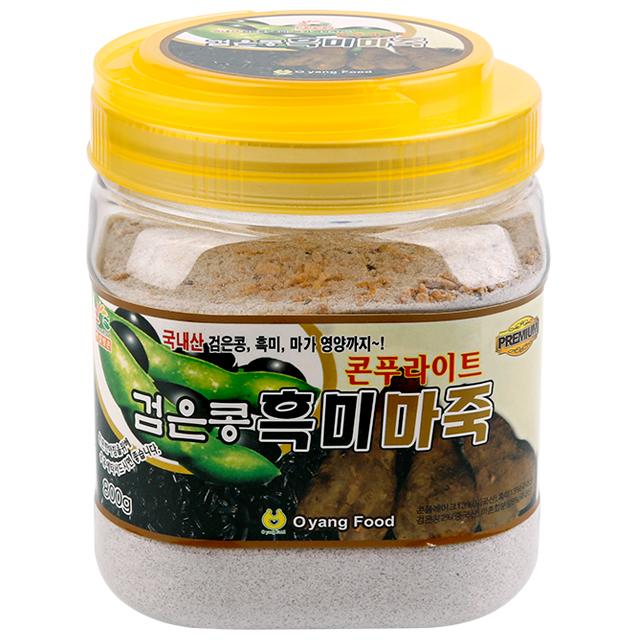 오양식품 콘푸라이트 검은콩 흑미 마죽, 800g, 1개