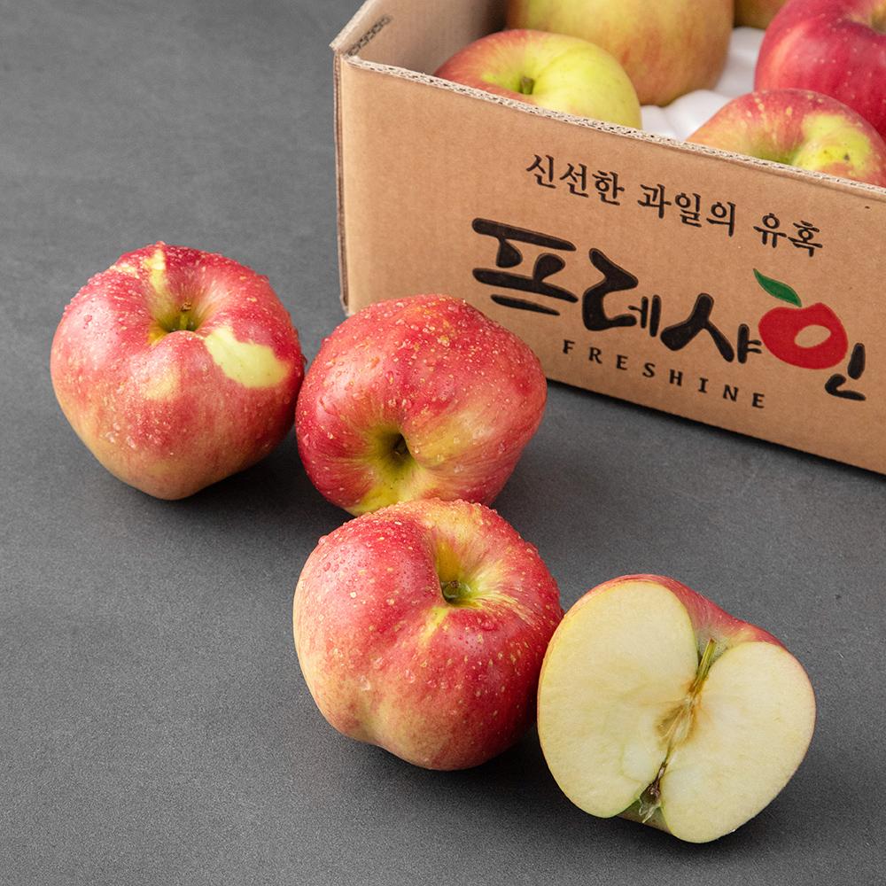 프레샤인 충주 GAP 인증 당도선별 사과, 5kg(16~20입), 1박스