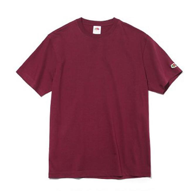 프룻오브더룸 남녀공용 아시아핏 반소매 와펜티셔츠