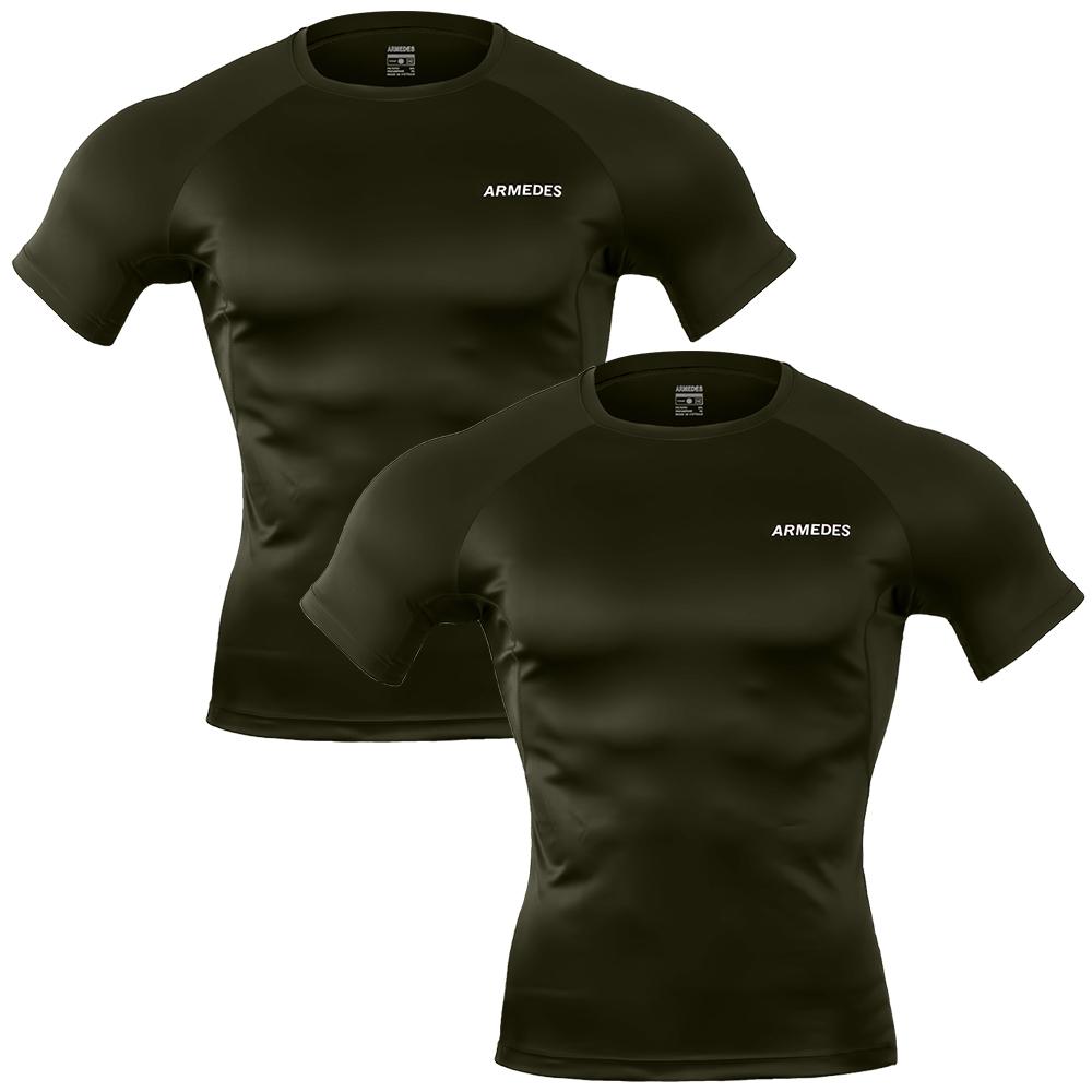 아르메데스 남성용 기능성 반팔 티셔츠 AR-194 2p