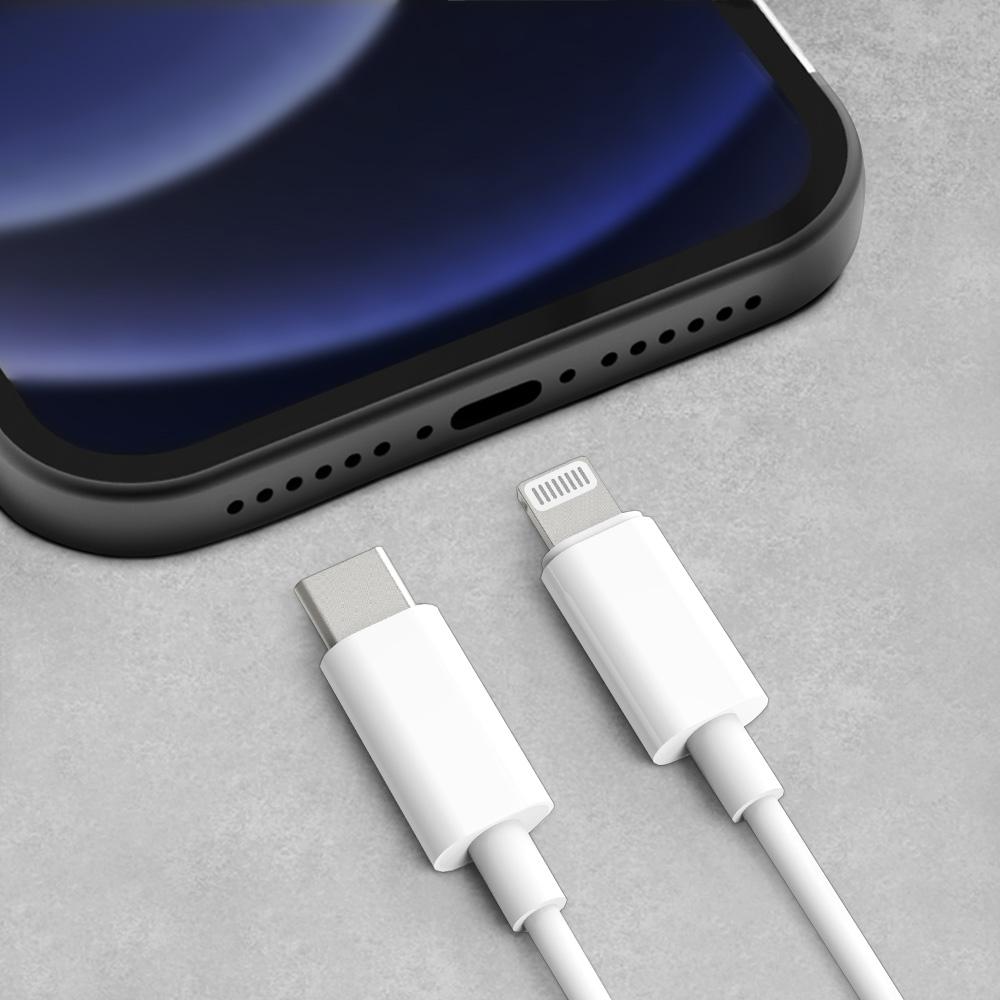 애플 아이폰 MFI인증 타입C to 8핀 라이트닝 고속충전케이블 1.5m