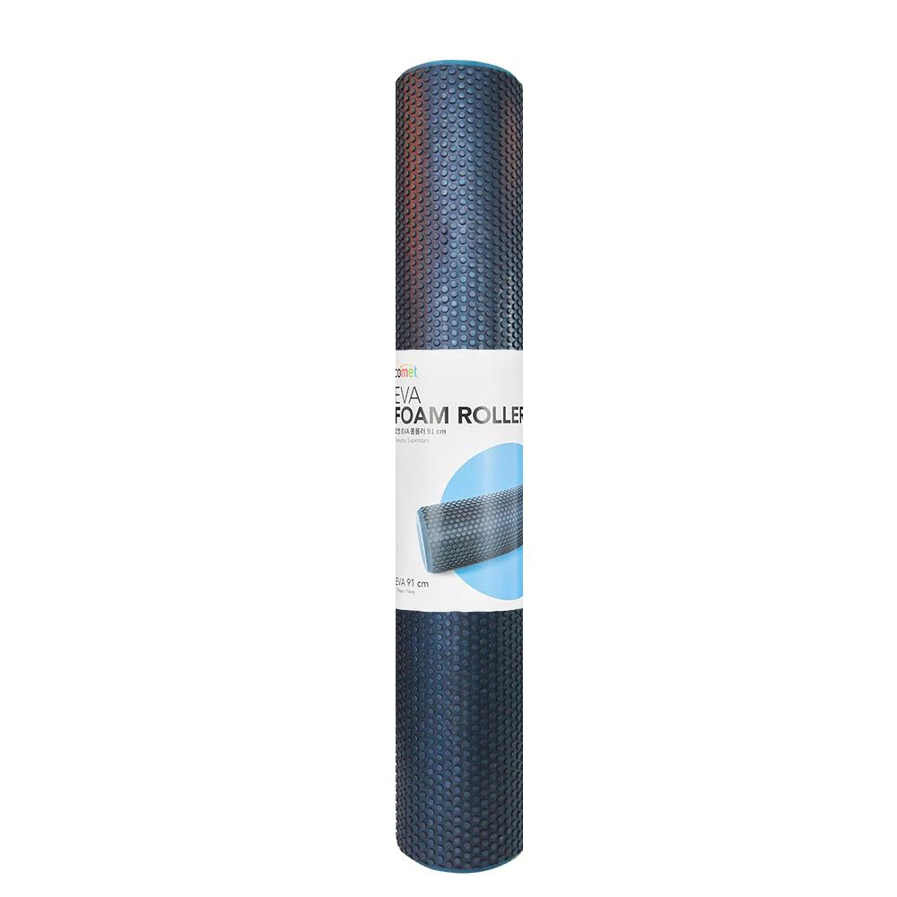 코멧 EVA 편안한 폼롤러, 남색 (91cm)