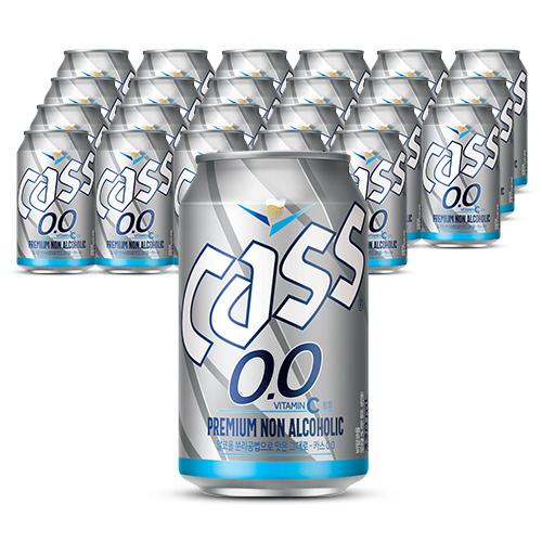 오비맥주 카스제로 비알콜음료, 330ml, 24개