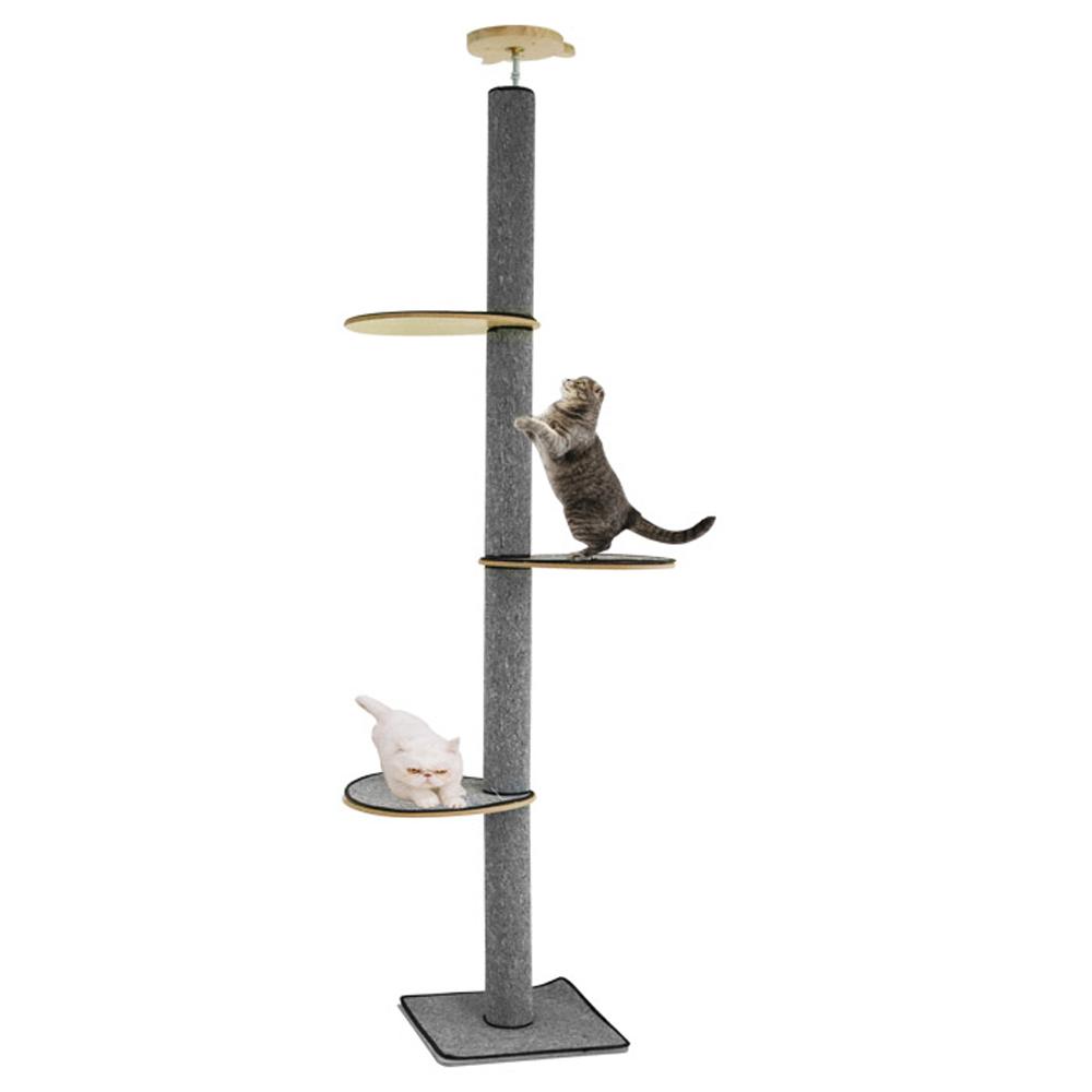 딩동펫 고양이 썬탑 캣폴 카펫형, 혼합색상, 1개