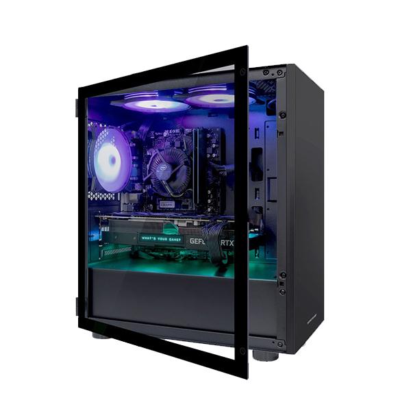 한성컴퓨터 게이밍 데스크탑 블랙 TFG MX9465SW (i5-9400F WIN10 RAM 16GB 교체장착 SSD 240GB GTX 1650 SUPER), 기본형