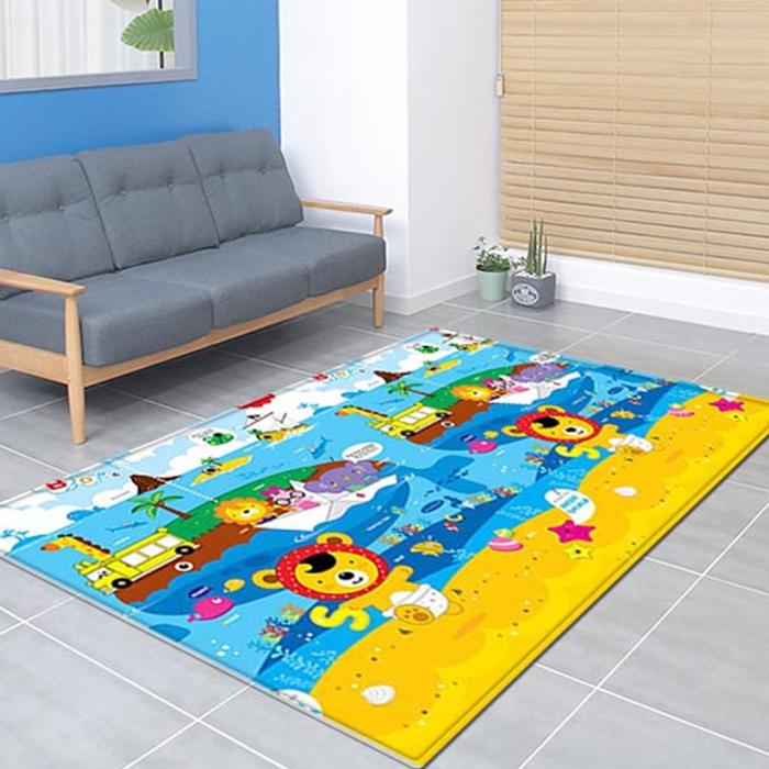 프로비 에코 유아 놀이방매트, 애니멀 고래섬