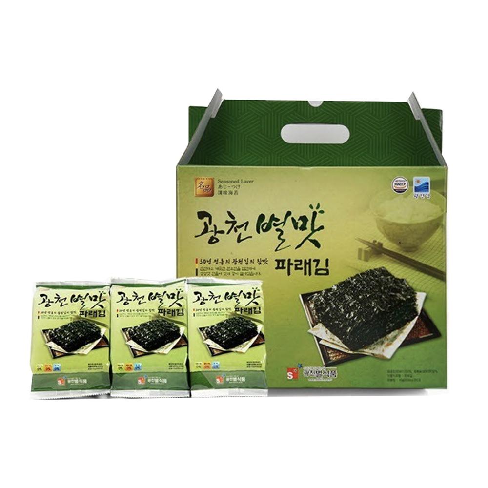 [재래김 선물세트] 광천별맛김 식탁김 15g, 12개 - 랭킹9위 (10380원)