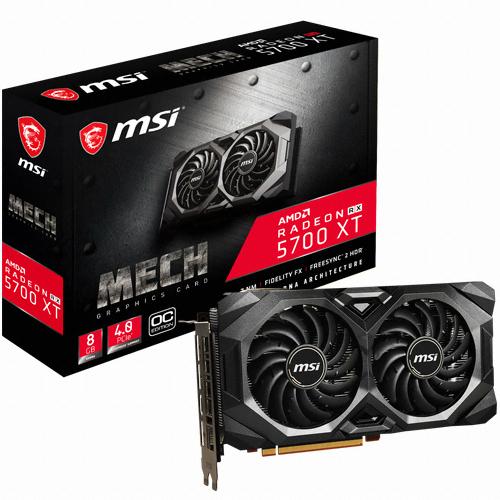 MSI 라데온 RX 5700 XT 메크 OC D6 8GB 그래픽카드 RX5700XM