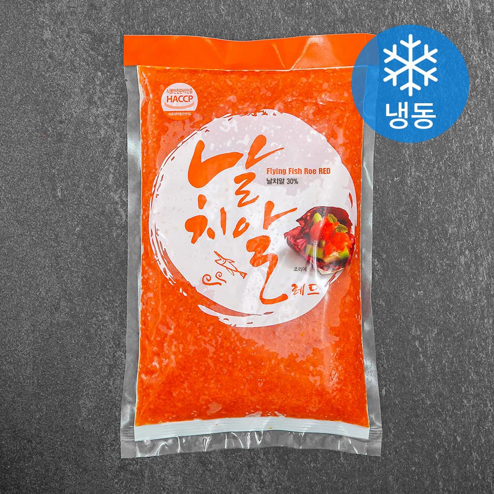 날치알 레드 (냉동), 900g, 1팩