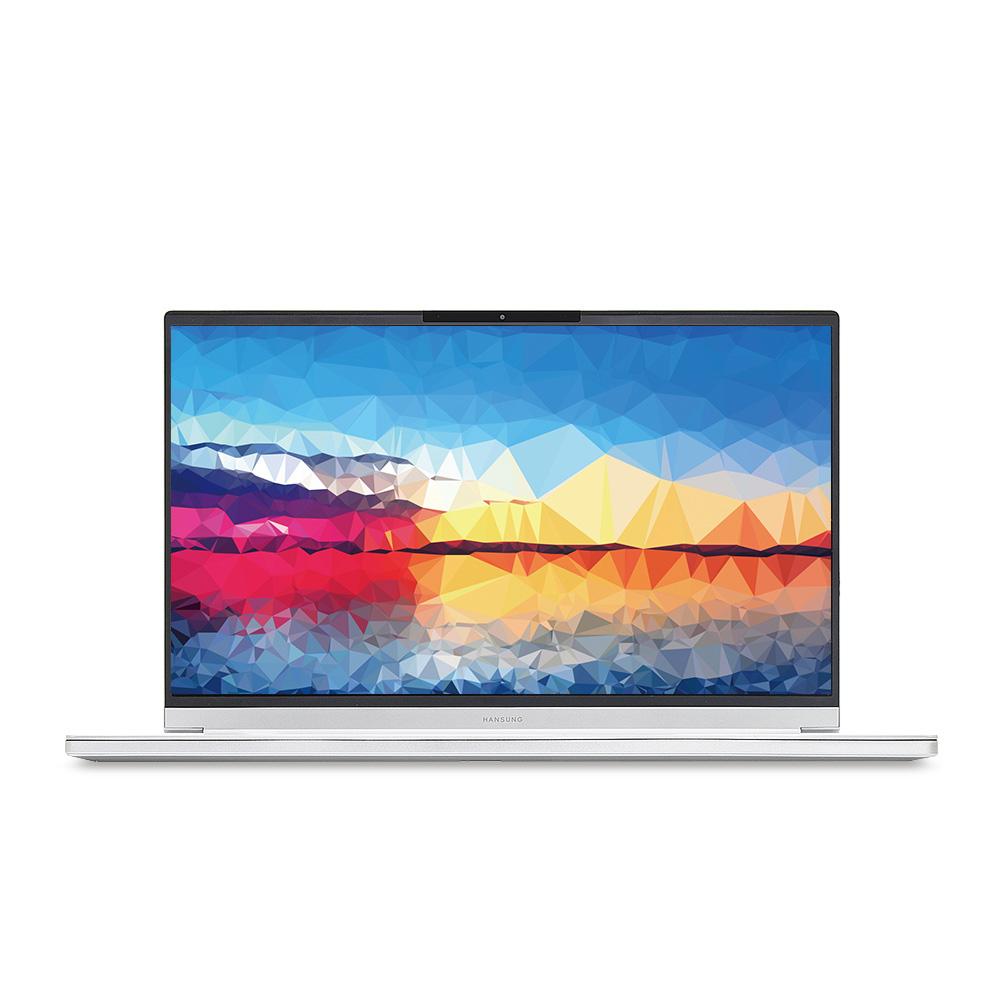 한성컴퓨터 노트북 아방가르드 실버 TFX255GS (i7-9750H 39.62cm WIN미포함 UHD Graphics 630), 미포함, SSD 500GB, 8GB