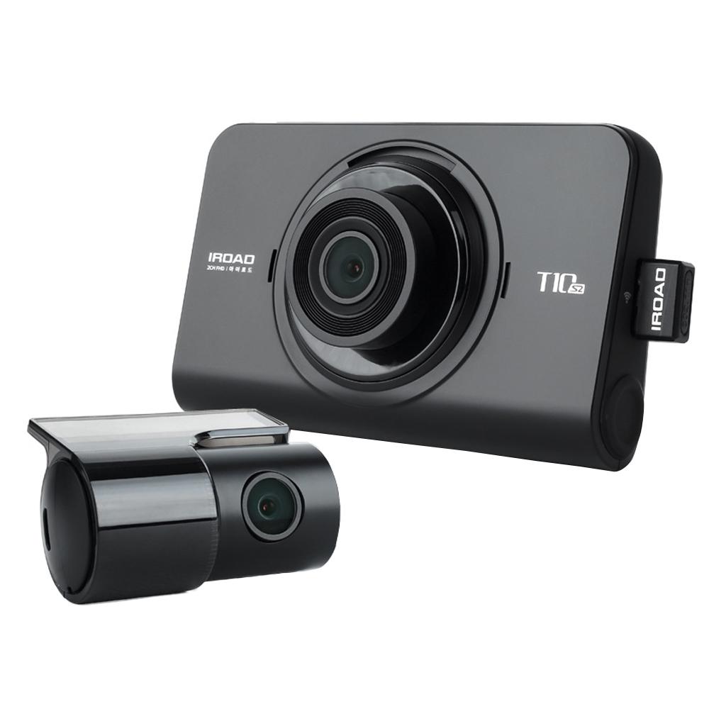 [2채널 블랙박스] 아이로드 T10시즌2 32GB 블랙박스 기본패키지 출장장착, IROAD T10S2 - 랭킹7위 (143100원)