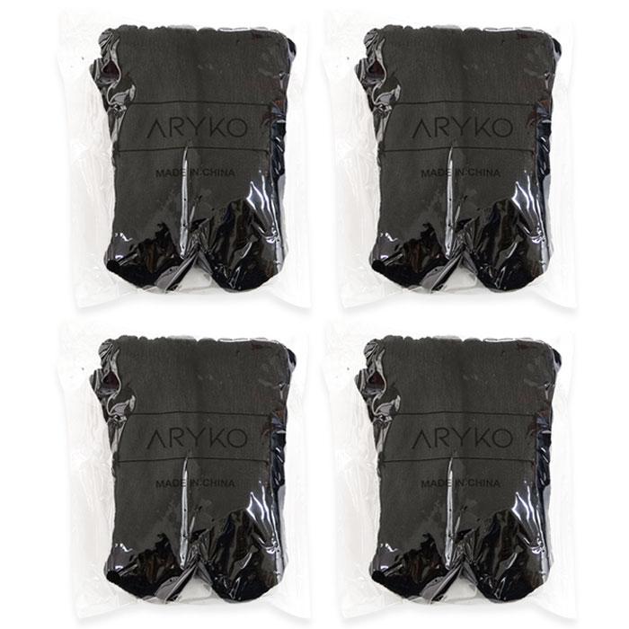아리코 주방의자 소음방지커버 16p, 블랙
