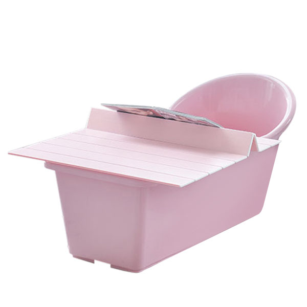 그린센스 이동식 반신욕조 풀세트, 러블리 핑크, 1세트