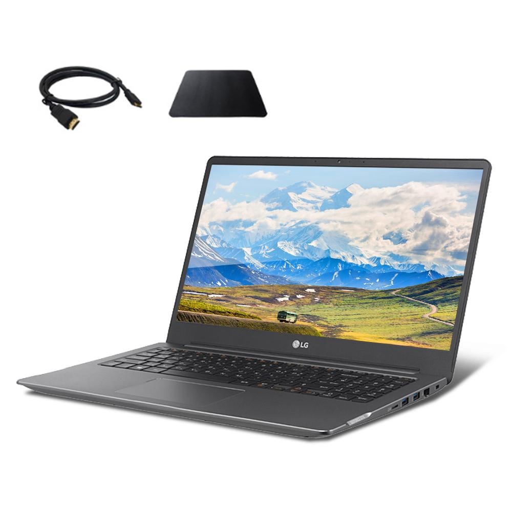 LG전자 울트라기어 노트북 15U70N-PR56K (i5-10210U 39.6cm GTX 1050) + HDMI 2.0 케이블 + 마우스 패드, NVMe 256GB, 8GB, WIN10 Home