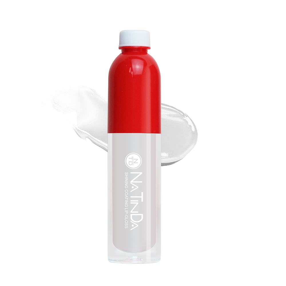 나틴다 샤이닝 코팅 립그로스 4ml, 01 화이트 스노우, 1개