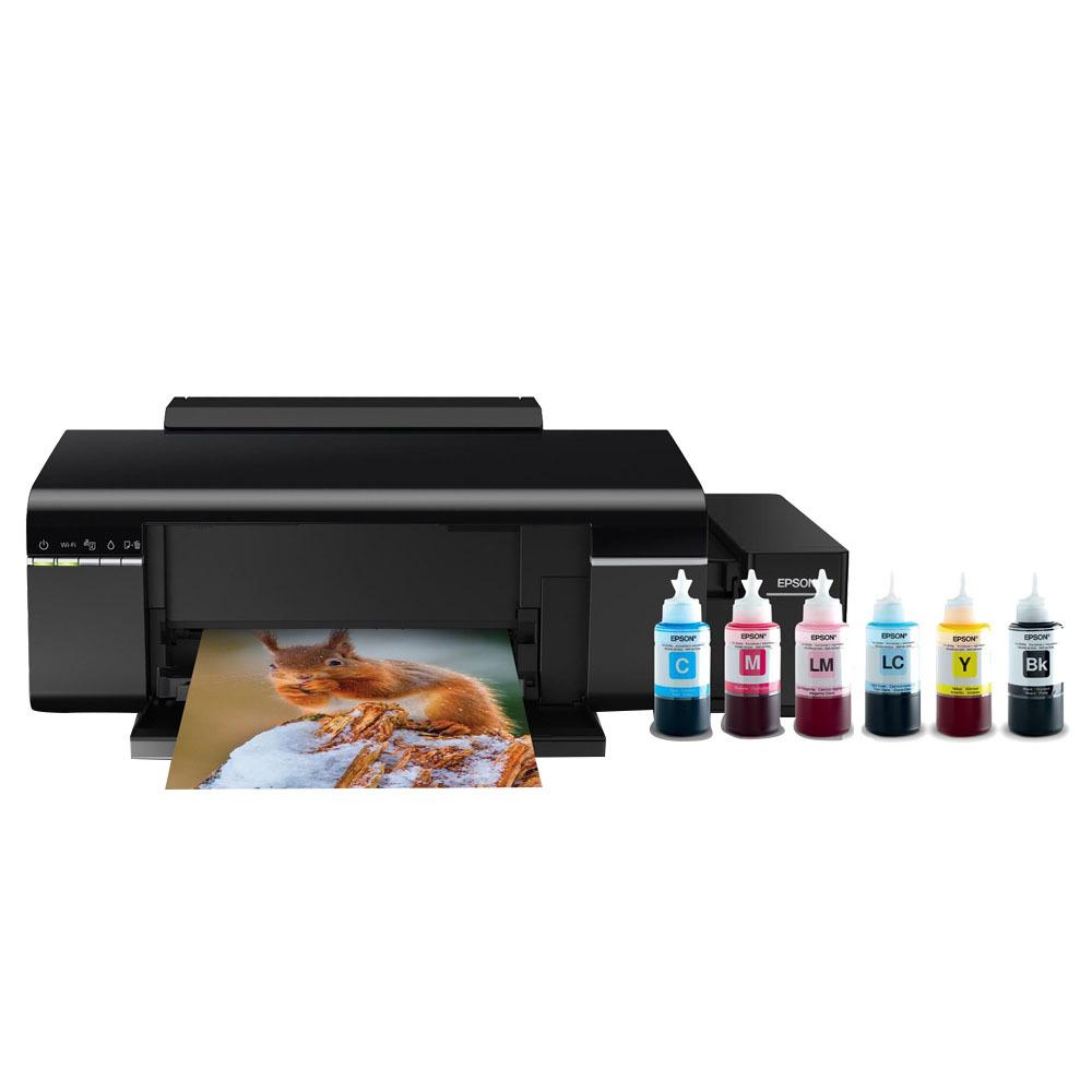 엡손 정품 무한 프린터기 L805 + 기본잉크 70ml