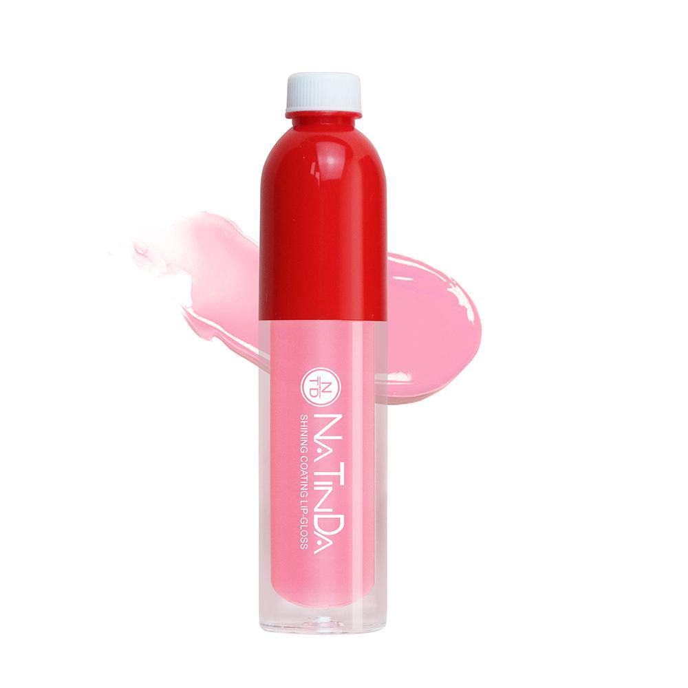 나틴다 샤이닝 코팅 립그로스 4ml, 02 캔디 핑크, 1개