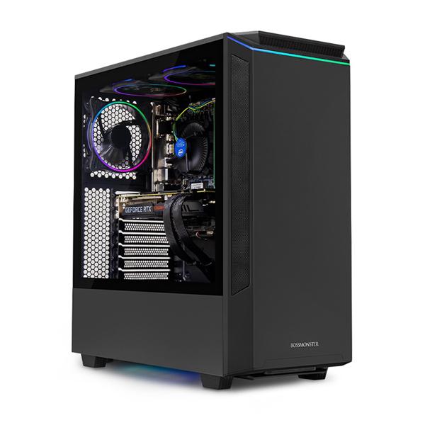 한성컴퓨터 보스몬스터 데스크탑 블랙 DX5516SRX (라이젠5-3500X WIN미포함 16GB SSD 500GB 교체장착 GTX1660 SUPER 6GB 파워 정격 650W), 기본형