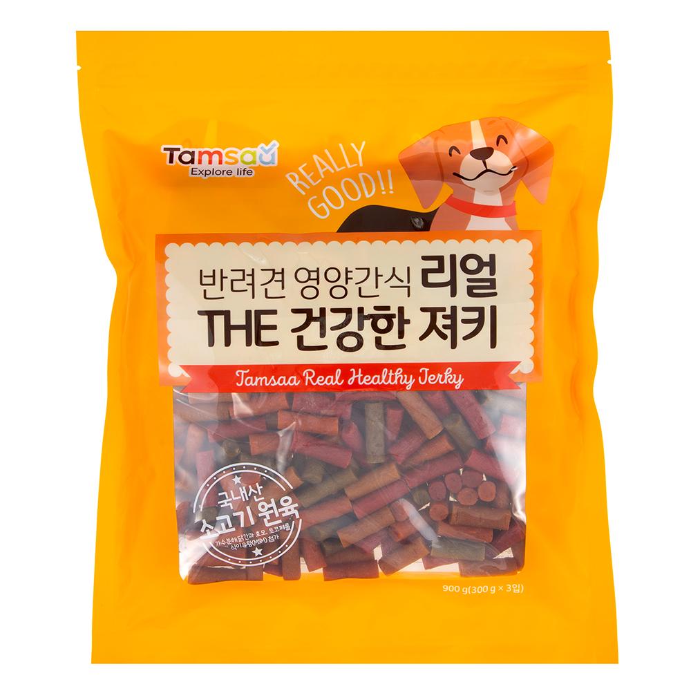 탐사 리얼 더 건강한 강아지 영양간식 900g, 1개