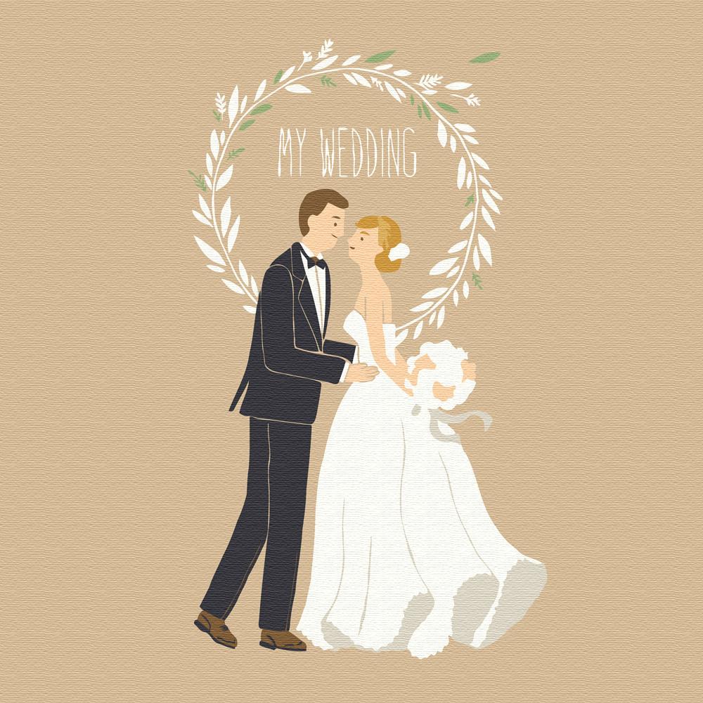아트조이 명화그리기 20 x 20cm, 나의 꿈꾸는 결혼식