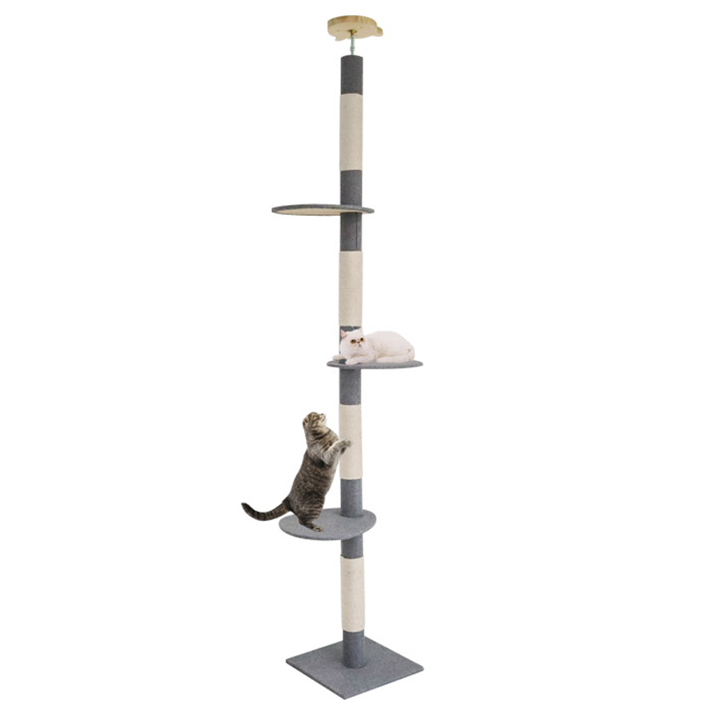 딩동펫 고양이 썬탑 캣폴 직조형, 혼합색상, 1개
