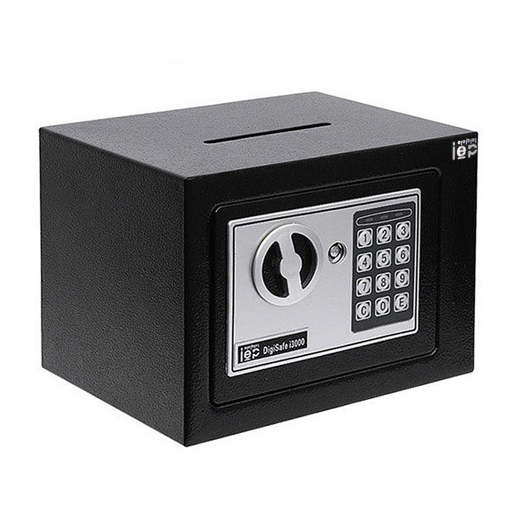 아이이피 디지털 미니금고 i3000, BLACK