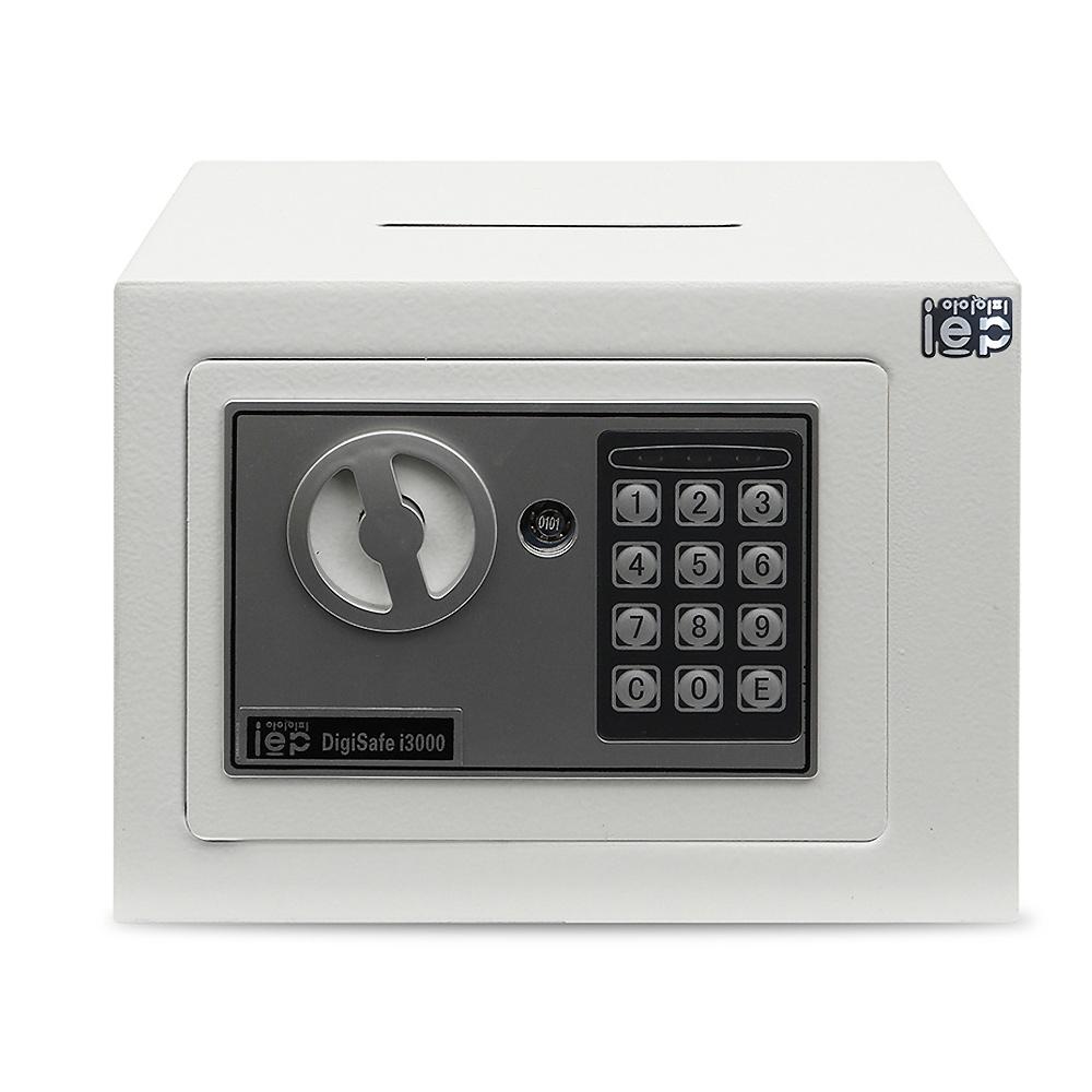 아이이피 디지털 미니금고 i3000, WHITE
