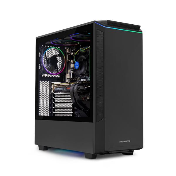 한성컴퓨터 보스몬스터 데스크탑 블랙 DX5516S (i5-9400F WIN미포함 16GB SSD 500GB 교체장착 GTX1660 SUPER 6GB 파워 정격 650W), 기본형
