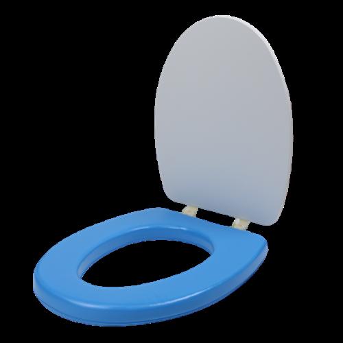 생활낙원 해피데이 성인용 변기커버 특대형, 블루, 1개
