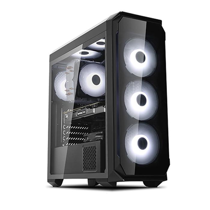 컴맹닷컴 조립PC CM956KC-166H (I5-9600K WIN10 RAM 16GB SSD 240GB GTX1660 6GB), 기본형