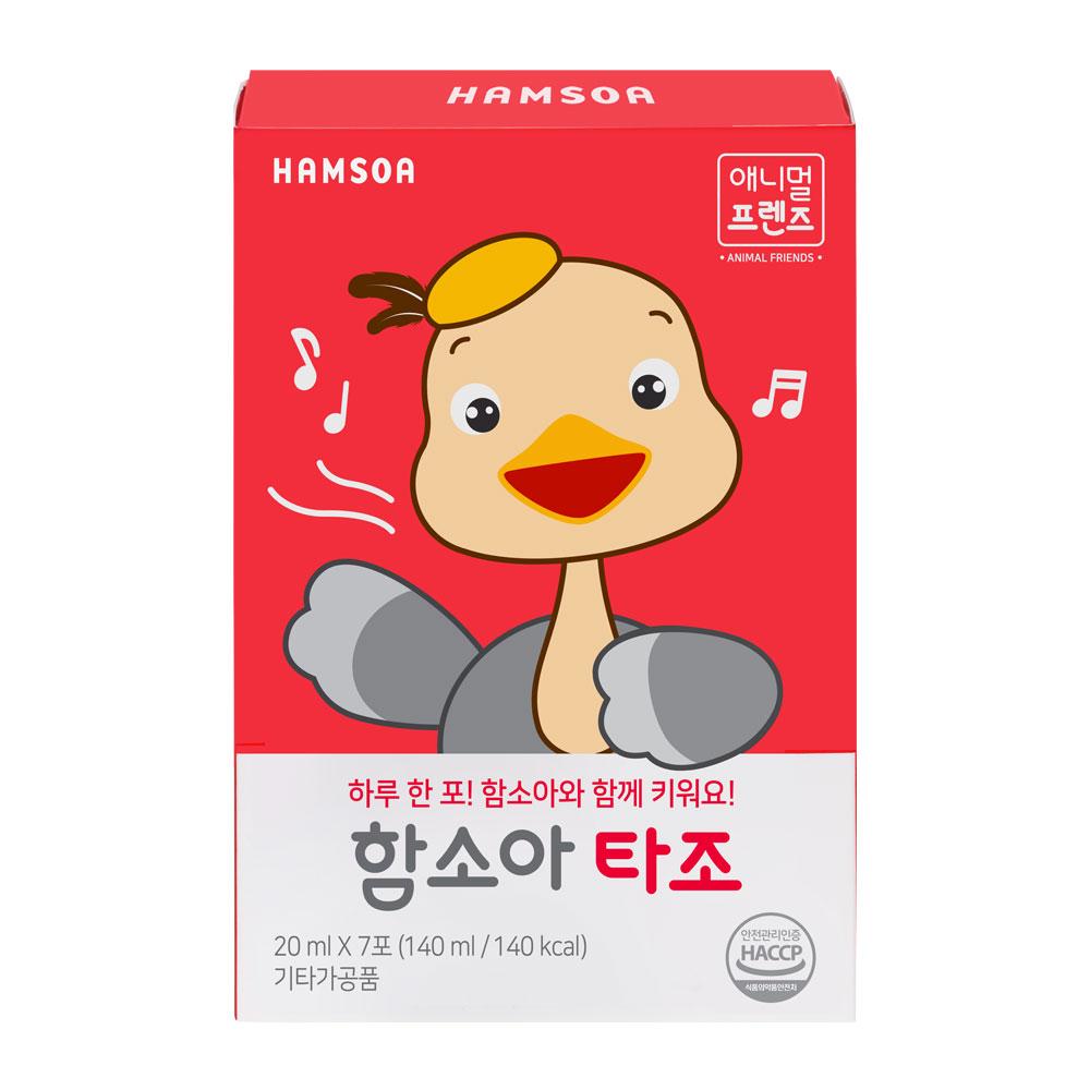 함소아 타조, 20ml, 7개입