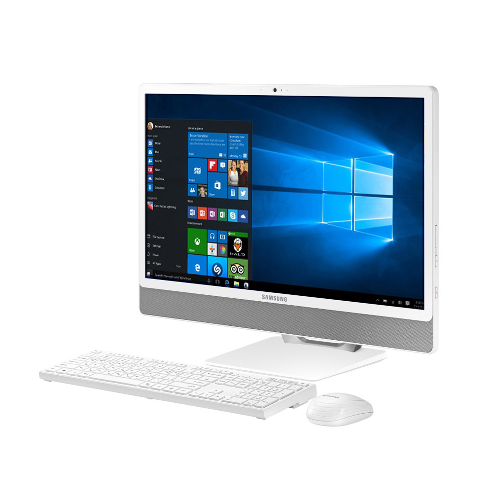 삼성전자 올인원PC 프로스트 화이트 DM530ABE-L38A (i3-8145U 60.5cm 8GB SSD 256GB WIN10 Home), HDD 1TB