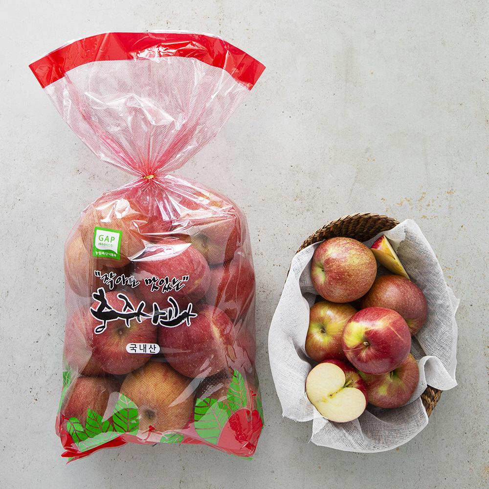 프레샤인 GAP 인증 당도선별 작아도 맛있는 꼬마사과, 3kg, 1봉