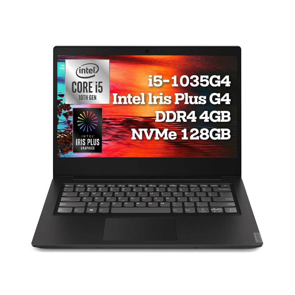 레노버 IdeaPad 노트북 S145-14IIL Classic G4 Iris i5 FreeDos 81W6003EKR 블랙 (i5-1035G4 35.5cm WIN미포함), 미포함, SSD 128GB, 4GB