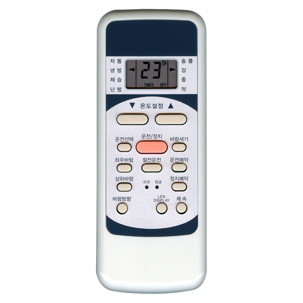 NOTTOO 대우/캐리어/위니아 에어컨 일부제품 적용 리모컨, ComBo-040WS, 1개